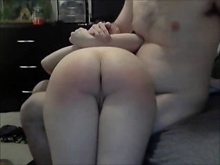 Getting my ass spanked