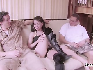 18yr old Skinny Teen Seduce..