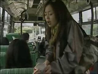 Japanese Lesbo Bus sex..